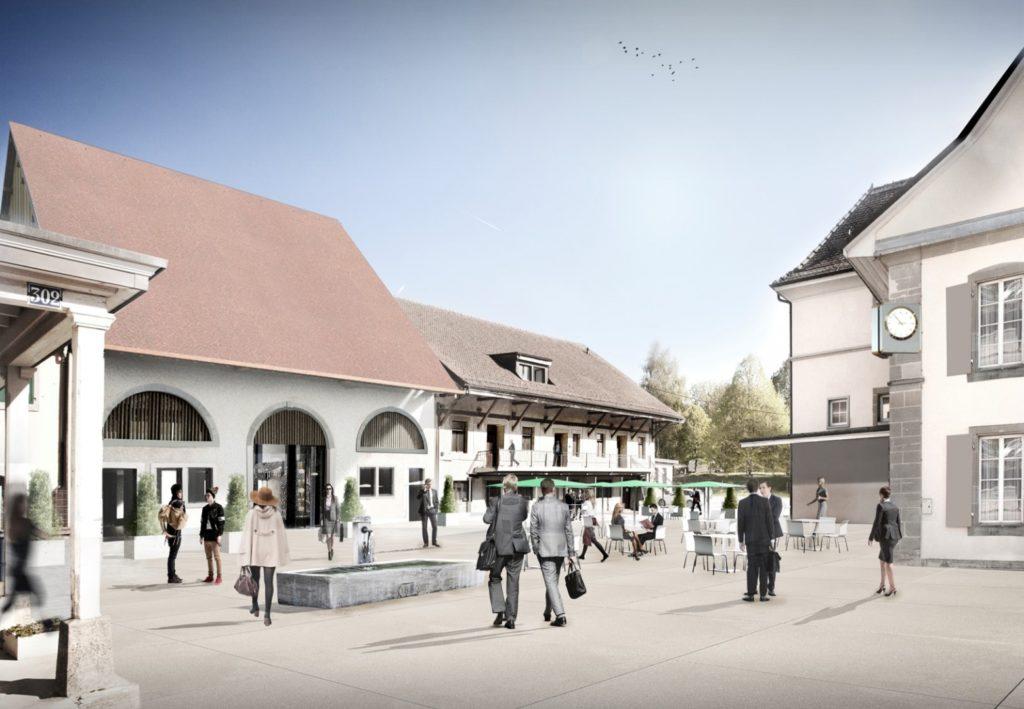 village de l'innovation. Copyright lausanne.ch